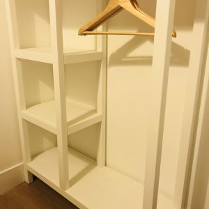 Storage and hanging space